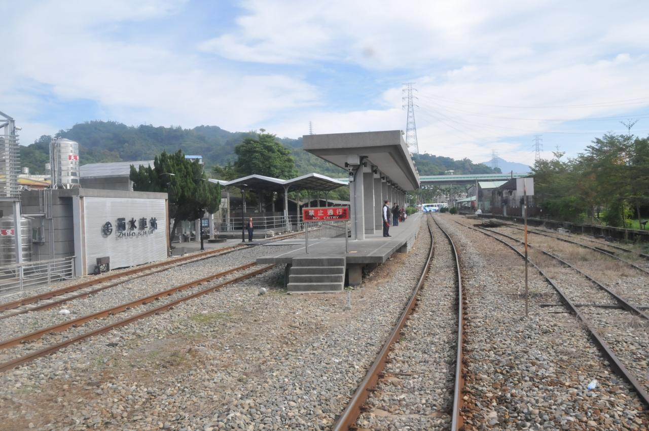 濁水駅Jhuoshuei Station