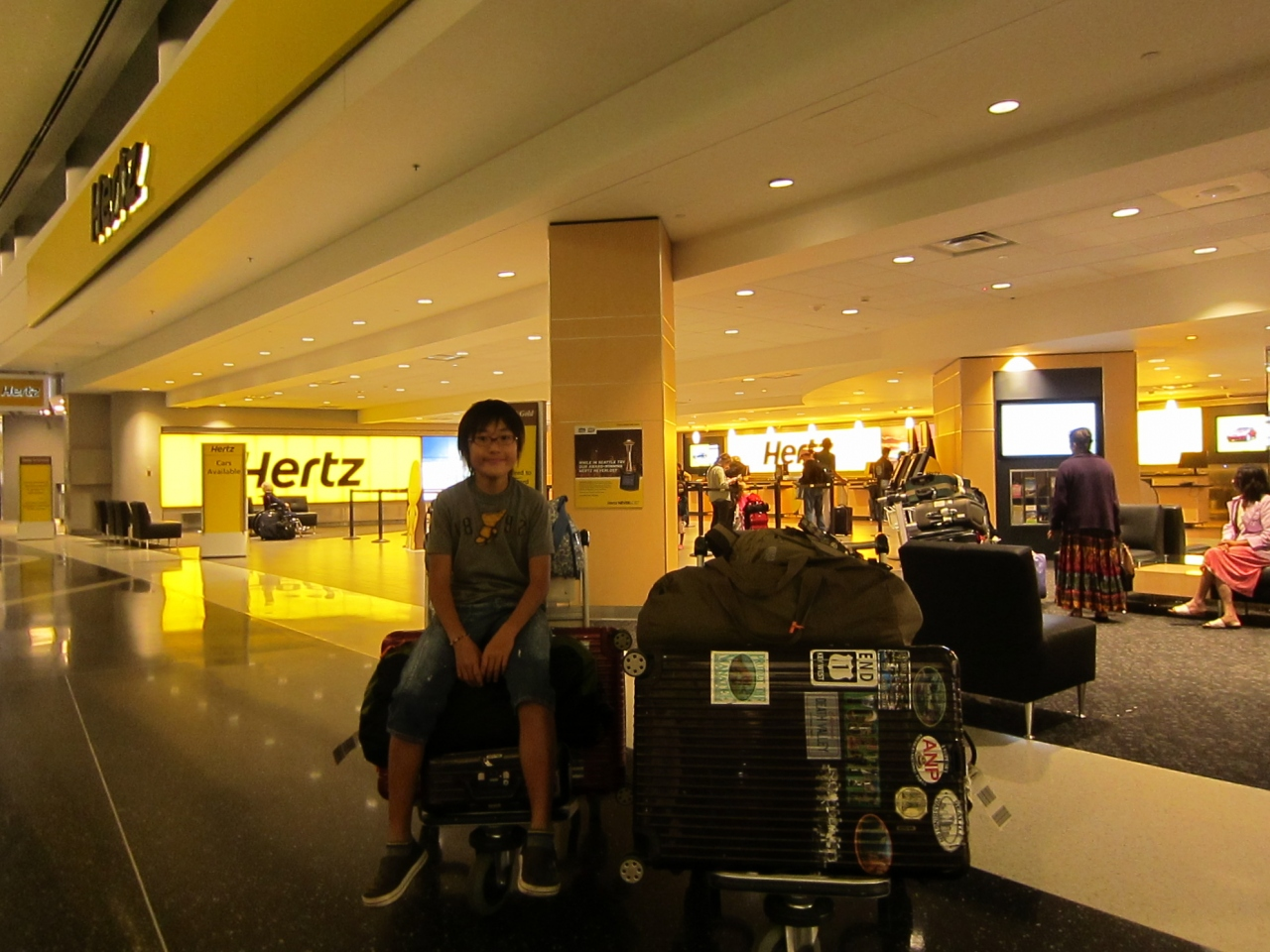 Hertz Car Rental Seattle Wa Airport