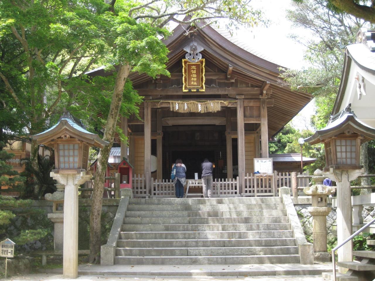 海の守り神、志賀海神社