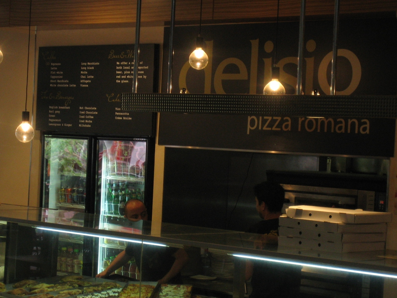 Delisio pizza romano delisio pizza romano for 100 st georges terrace perth wa 6000