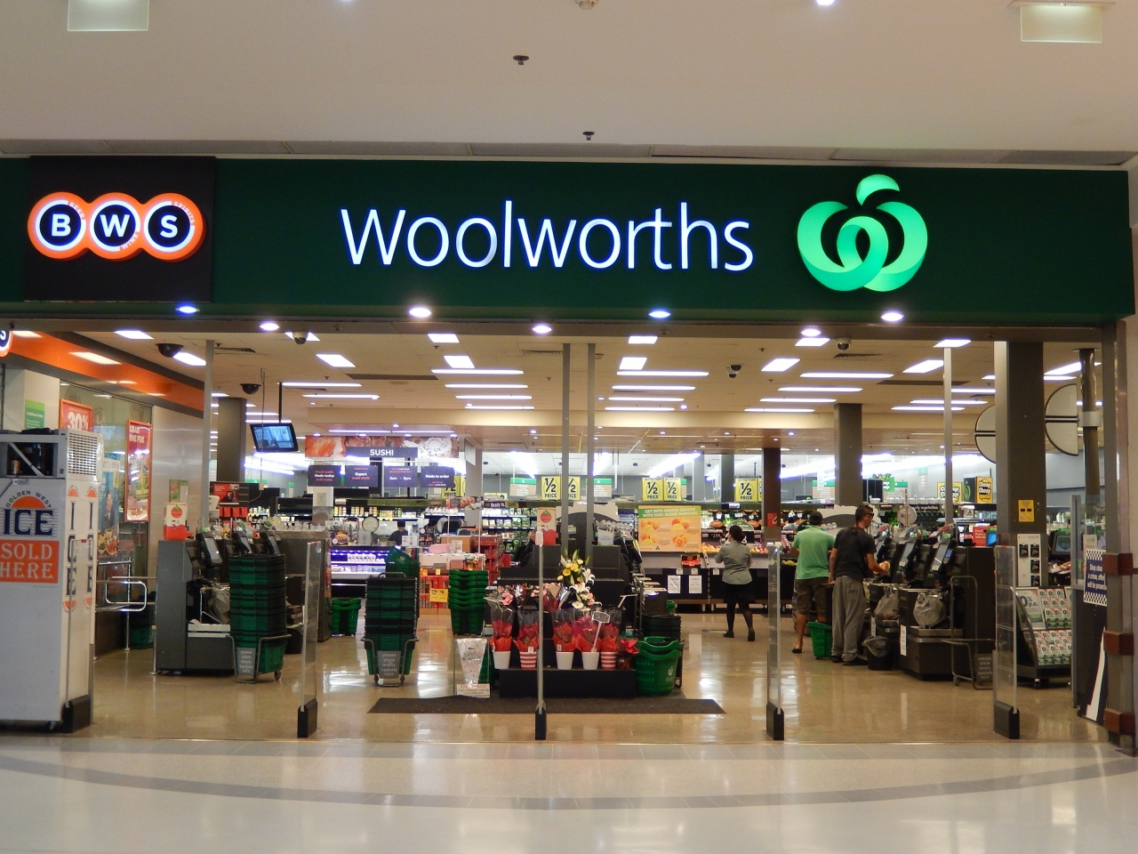 Woolworths woolworths st for 100 st georges terrace perth wa 6000