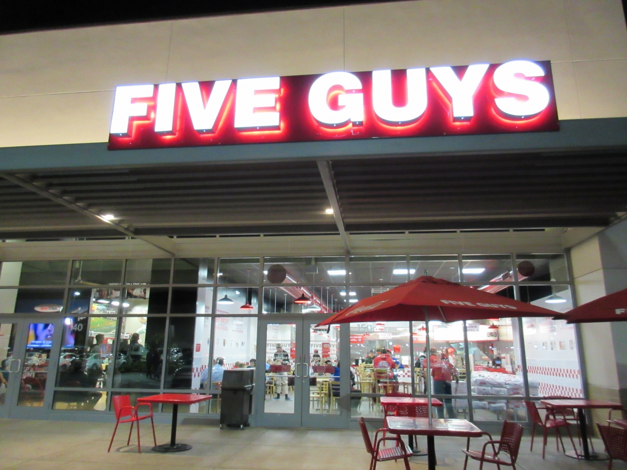 reviews of Five Guys