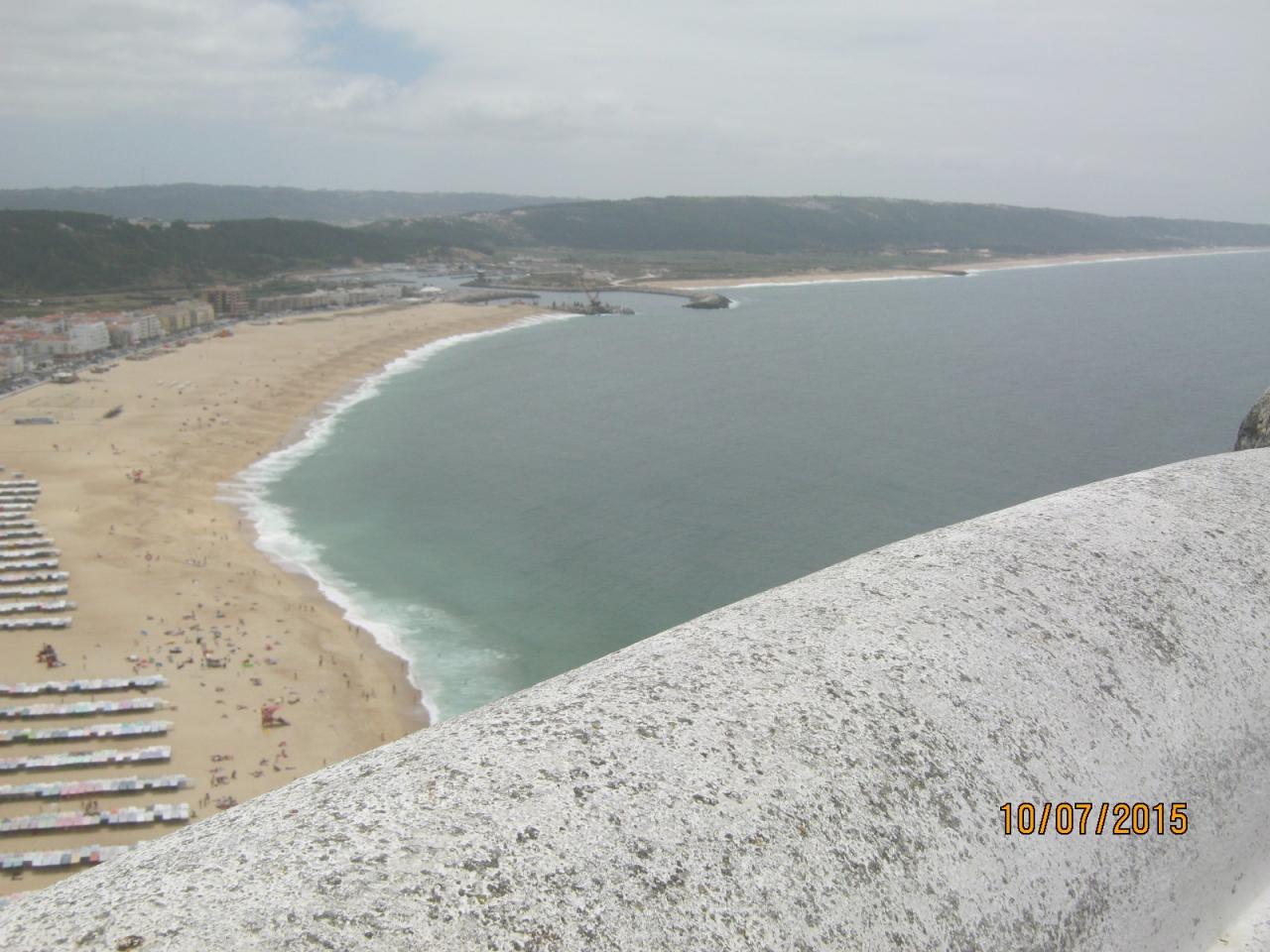 ナザレのビーチNazare Beach