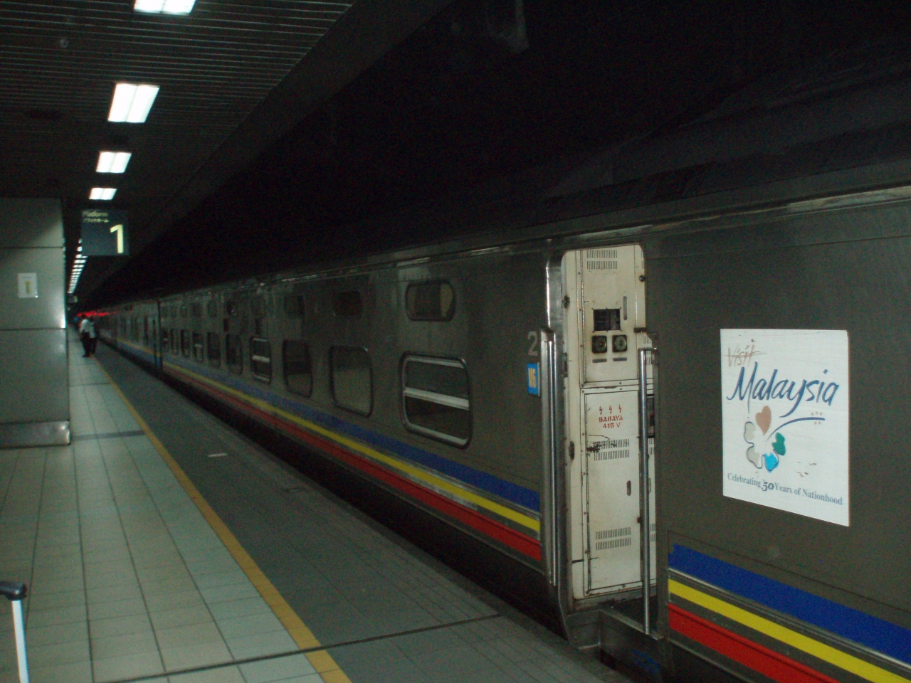 マレー鉄道旅行記