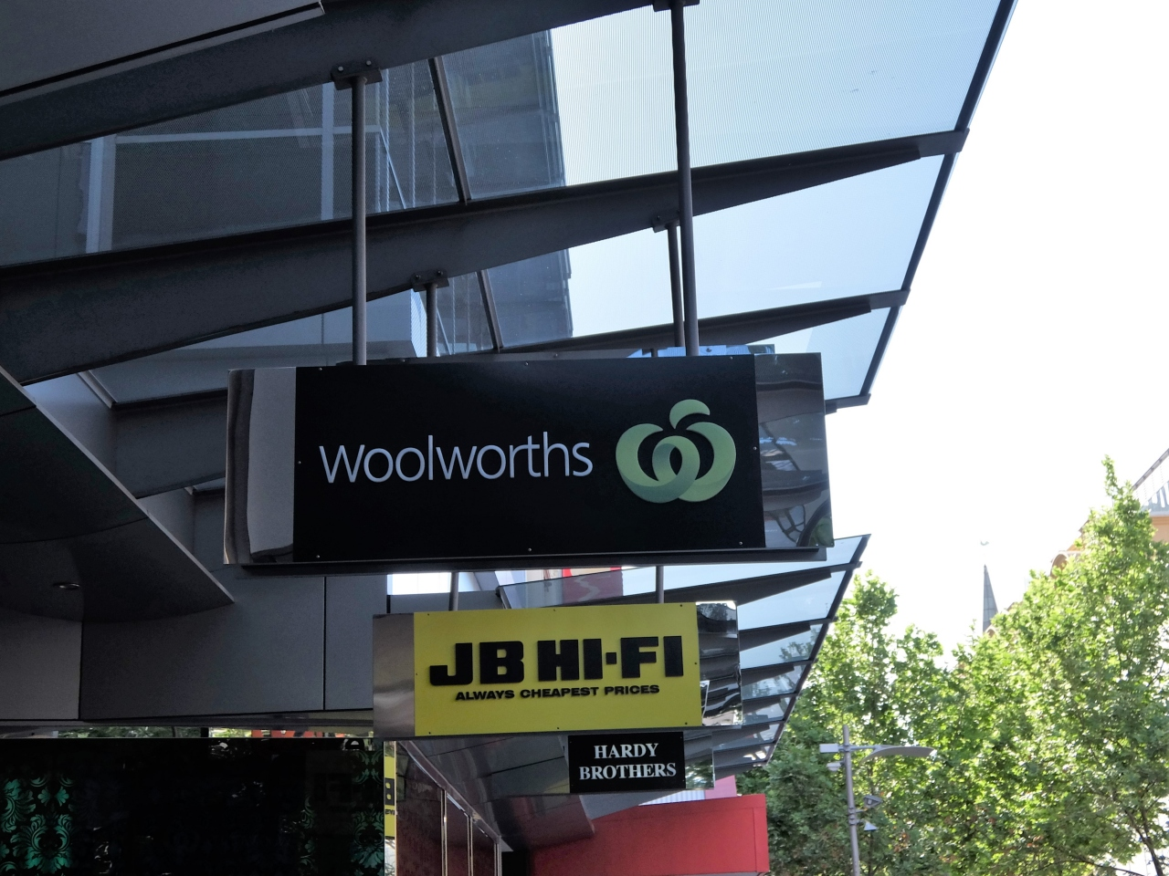 Woolworths woolworths st for 100 st georges terrace