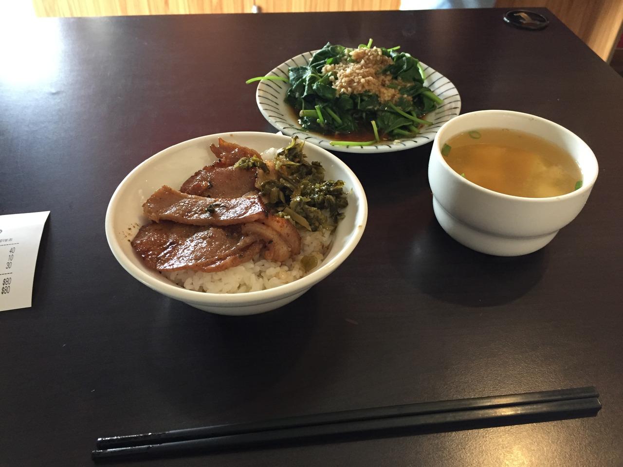 博義師焼肉飯 (自由店)