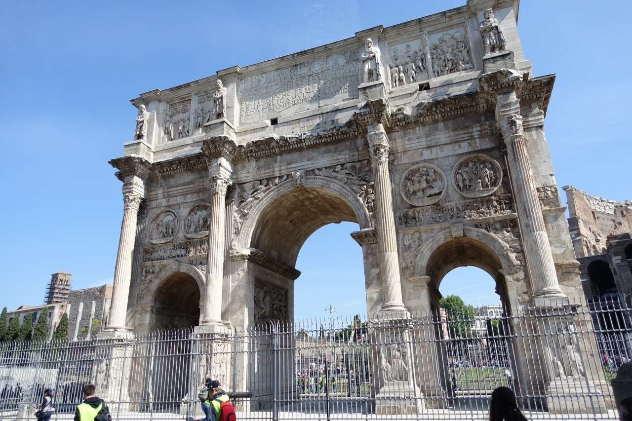 コンスタンティヌスの凱旋門の画像 p1_37