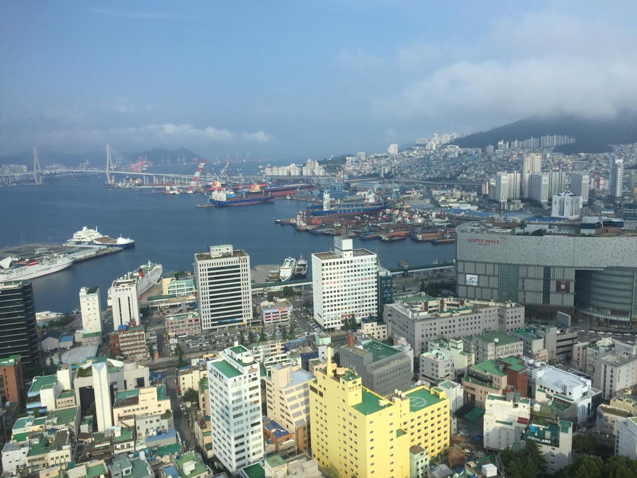 釜山の街を一望でき必見です。