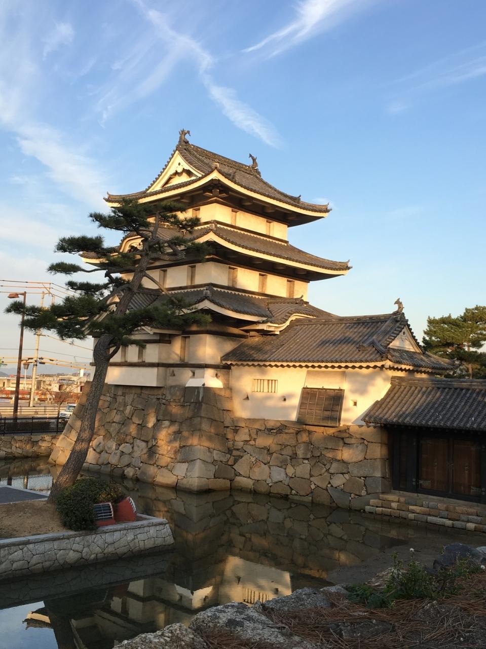 三大水城の一つ高松城跡