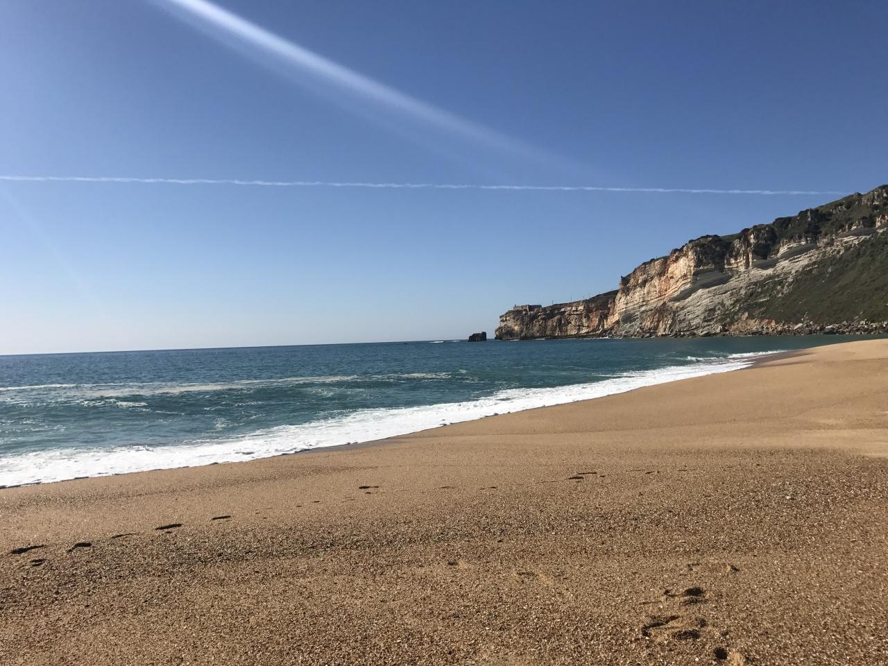 ナザレのビーチ旅行記