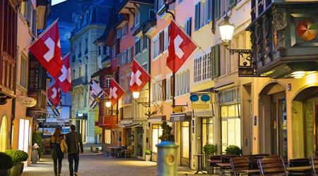 絶景を求めてスイスへの旅 <1>チューリッヒで見た美しい景...