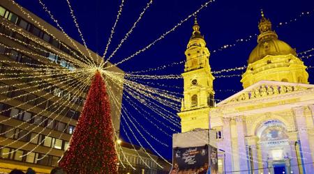 ハンガリー、オーストリア、チェコ、ベルリン、パリ年越し旅行 No2 素敵なブダペストのクリスマスマーケット