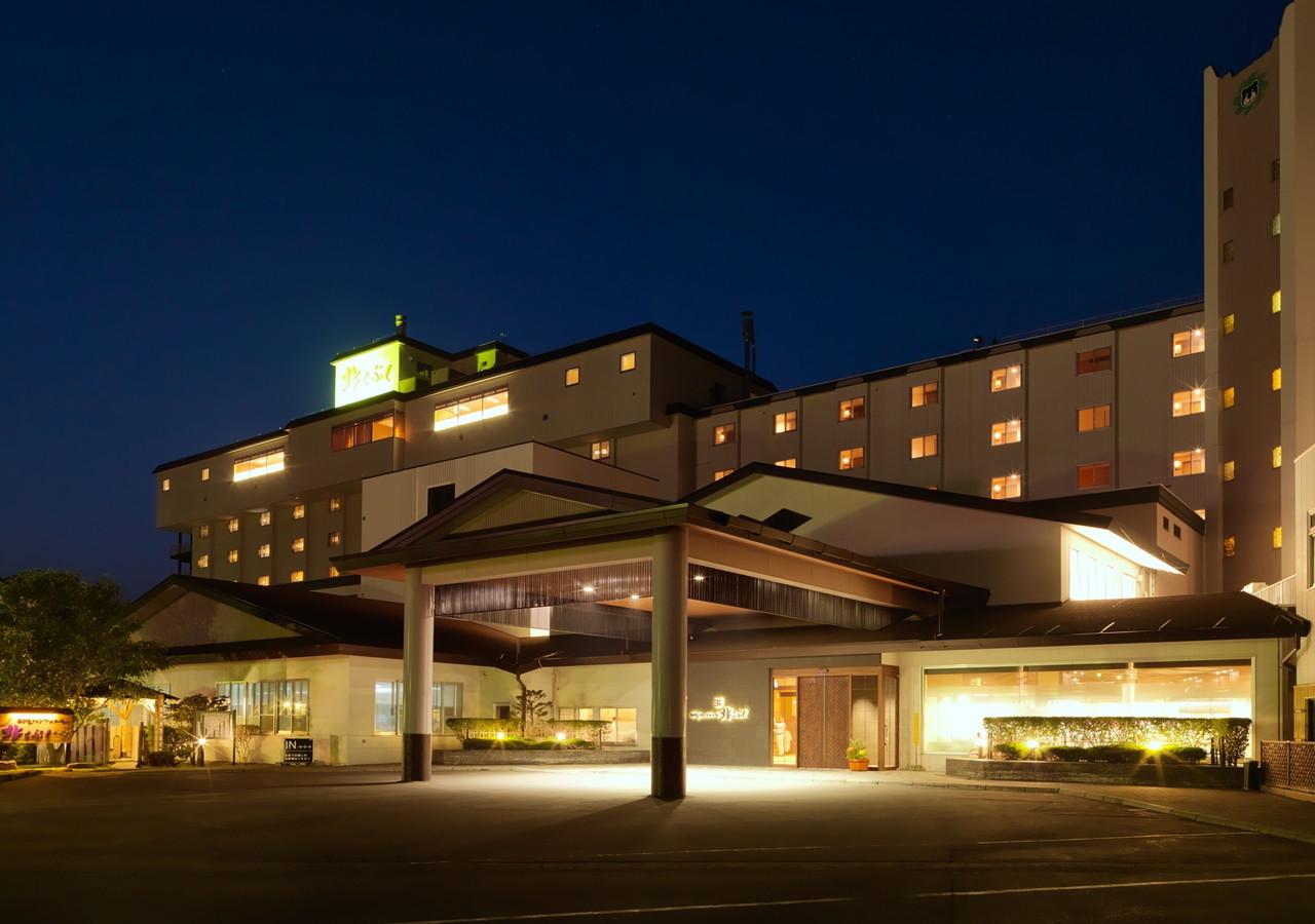 ウトロ温泉 知床グランドホテル 北こぶし 写真