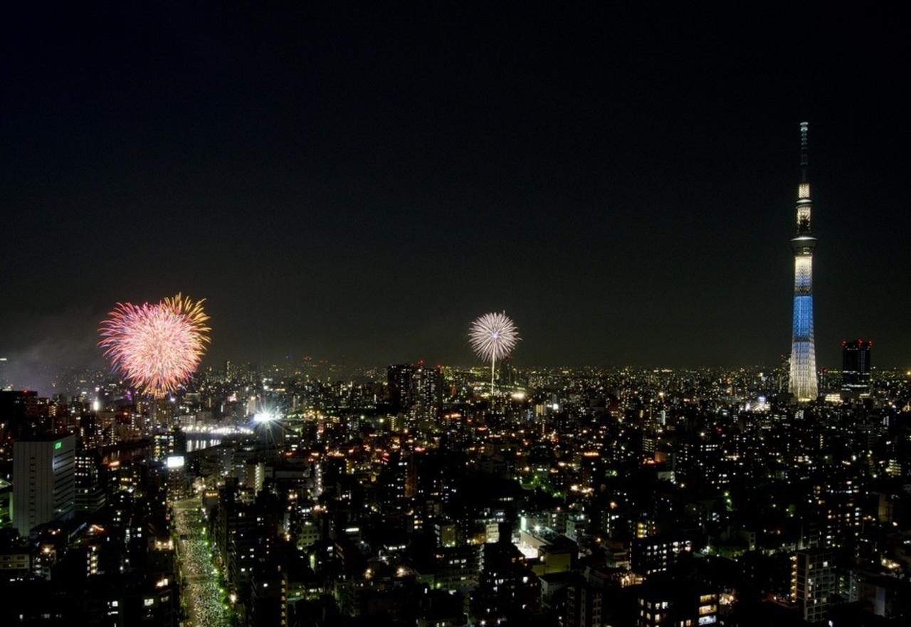 【2017年度】隅田川花火大会観賞プラン(朝・夕食付)
