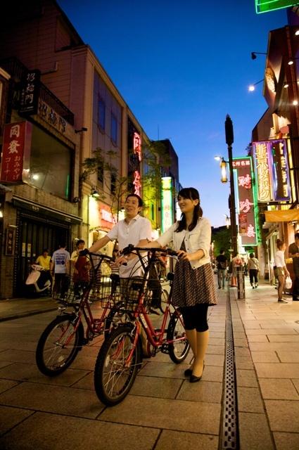 春の横浜を自転車で!ホテルで受付♪手軽なレンタサイクル