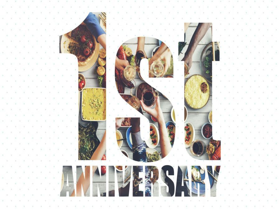 1st Year Anniversary Month
