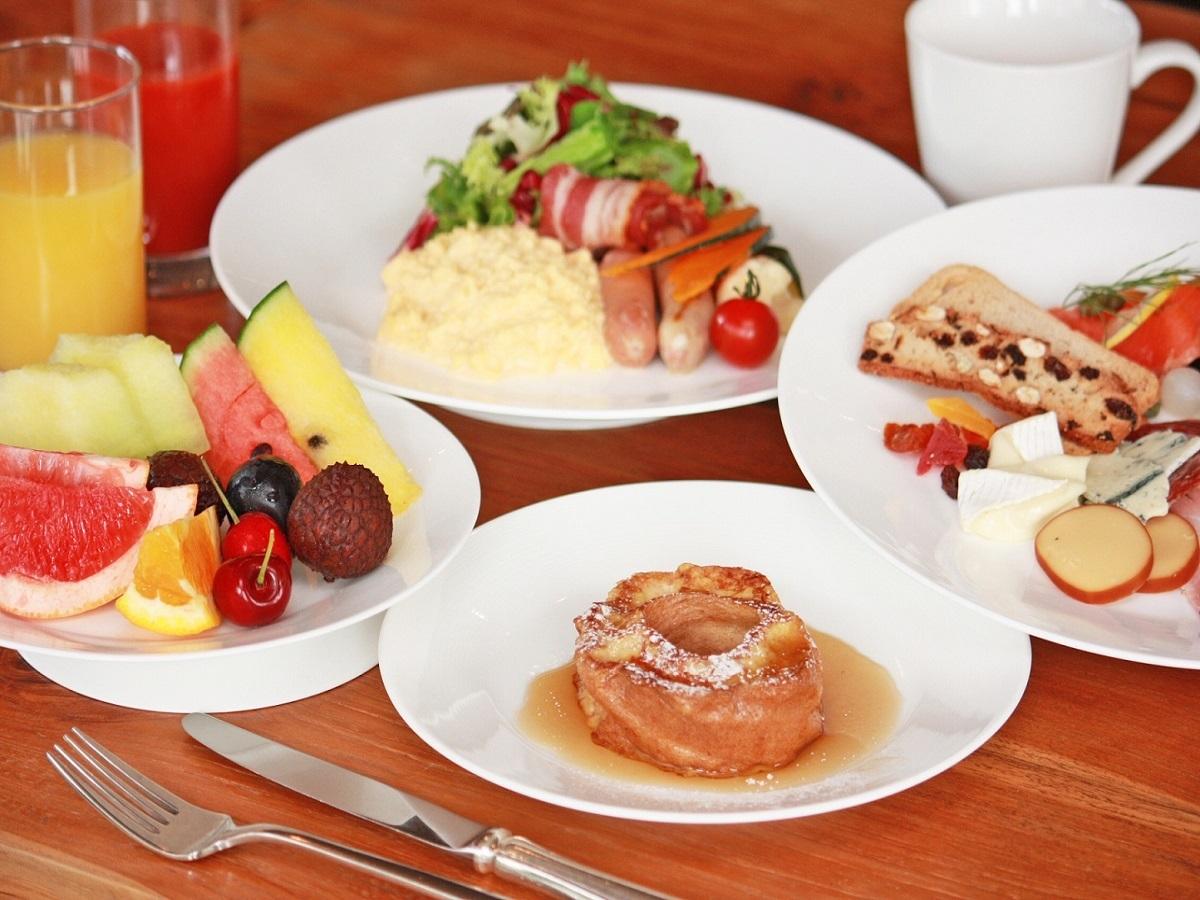 「車麩のフレンチトースト」が人気!朝食バイキング♪