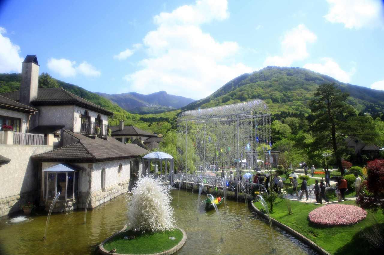 【箱根で美術館と温泉を満喫】美術館のランチと入場券付きプラン 写真