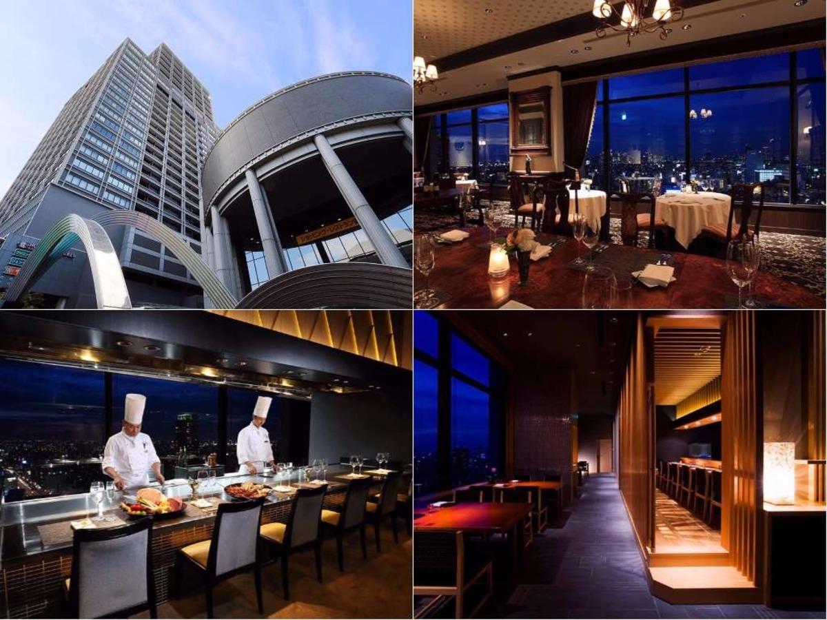 大阪市街を一望できる3つのレストラン