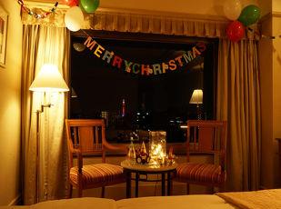 【サンタクロースとクリスマス】24時間ステイ宿泊プラン 写真