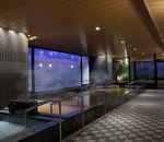 最上階から京都を一望 天然温泉「スパ・トリニテ」