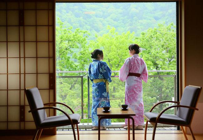 大江戸温泉物語 塩原温泉 かもしか荘 写真