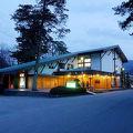 写真:旅館 養浩亭 露天風呂から長瀞渓谷を望む宿