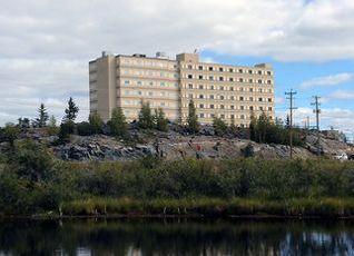 ジ エクスプローラー ホテル イエローナイフ 写真