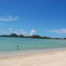 底地ビーチ きれいで静かで安全なビーチ