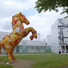 アートを楽しめる素敵な美術館です