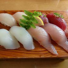 お寿司が美味しかったです♪