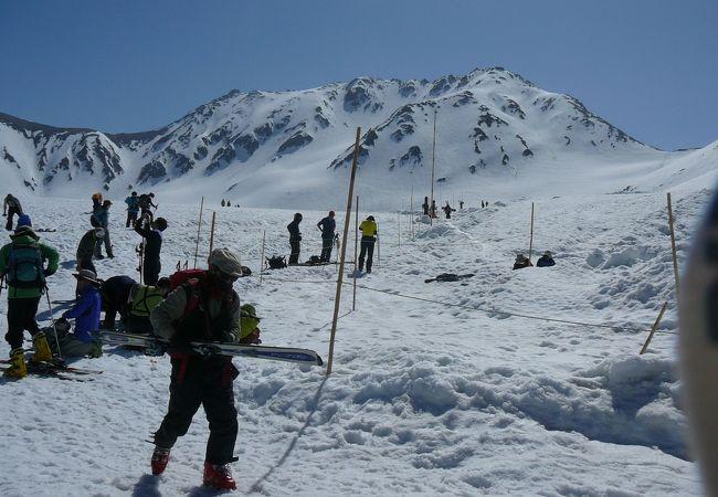 立山山岳スキー場
