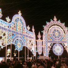 神戸ルミナリエ、感動します