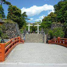 武田家の館跡