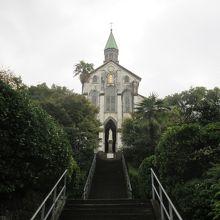 大変美しい天主堂でした