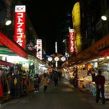 御徒町から上野にかけてのアメ横は色んなショッピングが出来ます