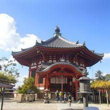 奈良を代表する寺院です