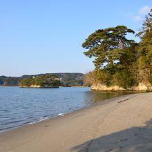 高い遊覧船に乗らなくても、松島の景色が楽しめます