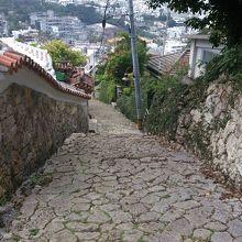 首里城付近を散策。