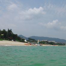 本当にここは中国?欧米5つ星ホテルが連なる美しい海岸