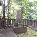写真:井上金峨の墓