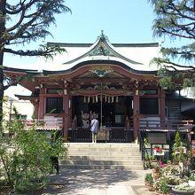 台東区今戸1丁目に鎮座している神社