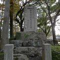 写真:牛島満陸軍大将生い立ちの碑
