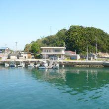 港付近の光景です。