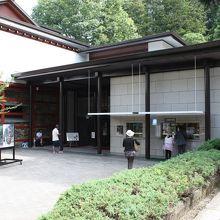 高山祭屋台会館の建物