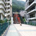 写真:鬼怒川温泉ふれあい橋
