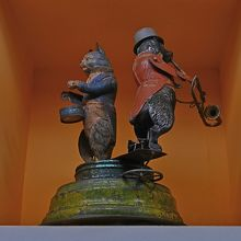 猫と犬のミュージシャン なんと1900年!