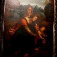 Leonard da Vinci 聖母子と聖アンナ