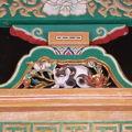写真:日光東照宮眠り猫
