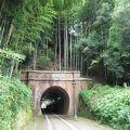 写真:北吸トンネル